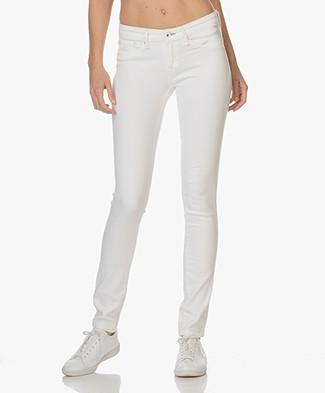 Denham Skinny Fit Jeans Sharp - Wit