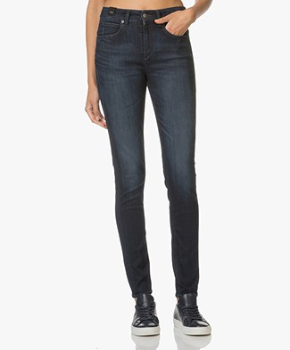 Drykorn High Waist Skinny Jeans Soon - Donkerblauw