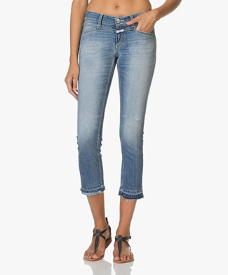 Closed Starlet Cropped Skinny Jeans - Light Worn Blue