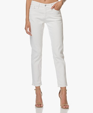 Denham Girlfriend Fit Jeans Monroe - Cloud White