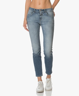 Closed Baker Cropped Slim-fit Jeans - New Blue