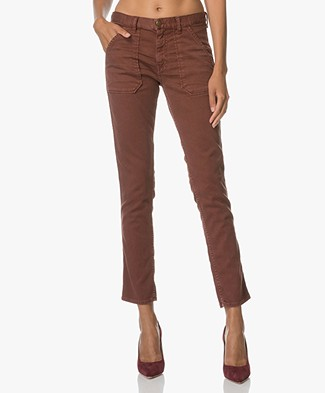Ba&sh Girlfriend Jeans Sally - Choco