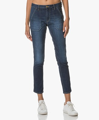 Ba&sh Girlfriend Jeans Sally - Brut