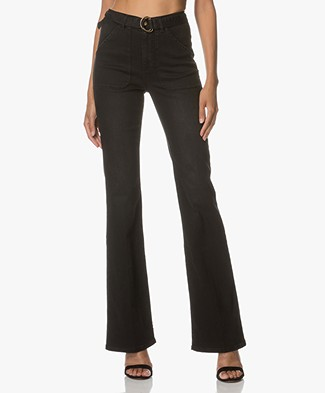Ba&sh Velasko Flared Jeans - Blackstone