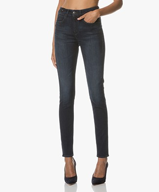 Drykorn High Waist Skinny Jeans Soon - Dark Blue