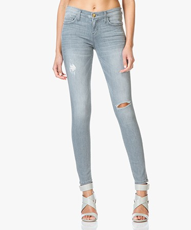 Current/Elliott - Current/Elliott The Ankle Skinny Jeans - Fade Destroy