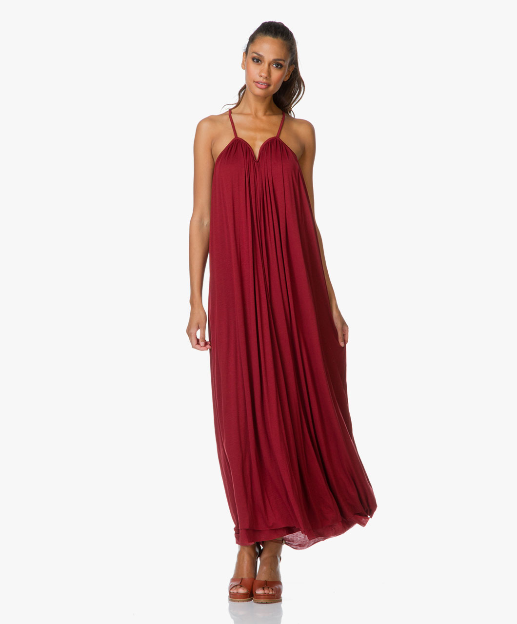 Filippa k summer dress in beach