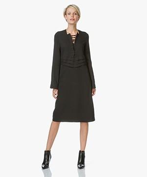 IRO Payda Dress with Lacing - Black