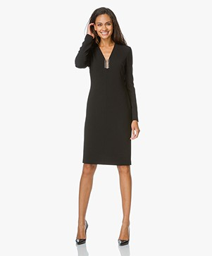 Alexander Wang Long Sleeve Dress with Piercing Detail