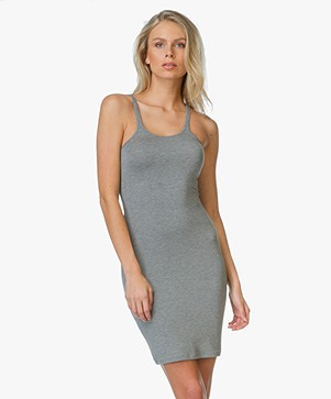 T by Alexander Wang Tank Dress - Heather Grey
