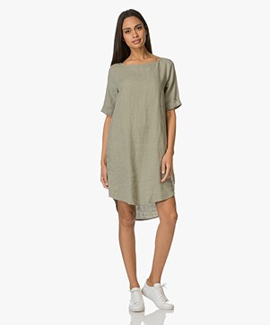 Kyra & Ko Tara Linen Tunic Dress