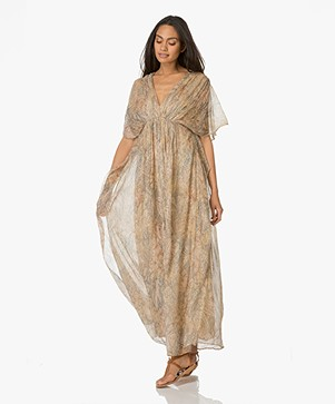Mes Demoiselles Palmier Maxi Dress