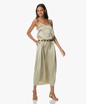 extreme cashmere N°50 Pina Silk Maxi Dress - Pina
