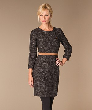Armani Jeans Wool-Blend Dress