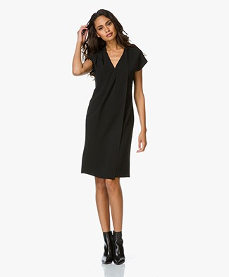 Alexander Wang Wrap Dress with Chain