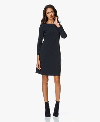 Josephine & Co Reed Jurk - Navy