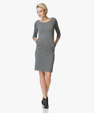 Josephine & Co Jort Jersey Dress - Anthracite