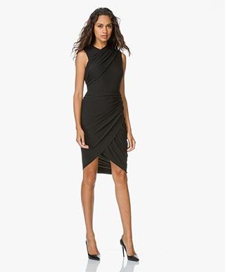 Alexander Wang Asymmetrical Wrap Dress