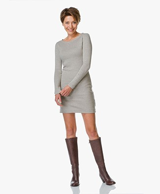 Majestic Jersey Dress with Cashmere