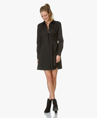 Alexander Wang Peplum Shirt Dress