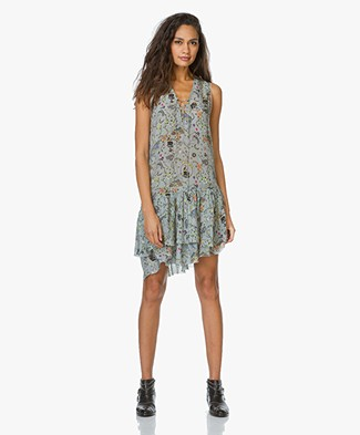 Zadig et Voltaire Dress with Circus Print Rory - Nuage