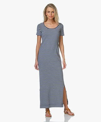 Josephine & Co Emma Striped Maxi Dress - Stripe Jeans