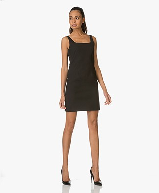 Rag & Bone Dress Jana in Cotton Blend - Black