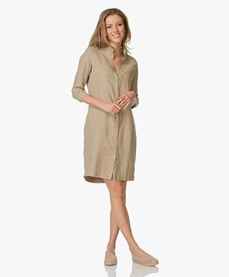 Josephine & Co Egbert Linen Shirt Dress