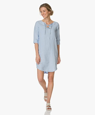 Josephine & Co Ella Cotton Dress - Light Blue