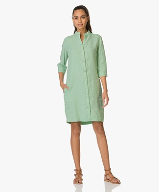 Josephine & Co Egbert Linen Shirt Dress - Linde