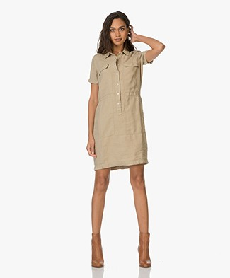 Josephine & Co Elvin Linen Tunic Dress - Beige