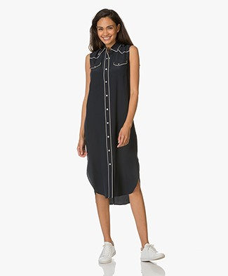 Rag & Bone Jesse Silk Dress - Salute