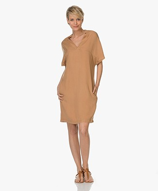 BY-BAR Nella Tencel Tunic Dress - Camel