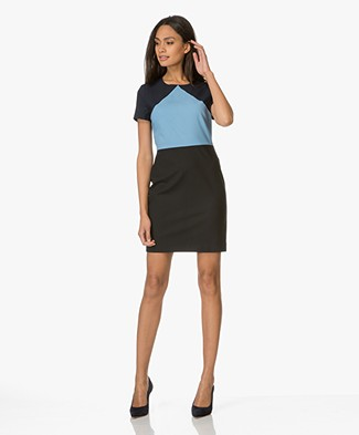 Diane von Furstenberg Tailored Shift Jurk