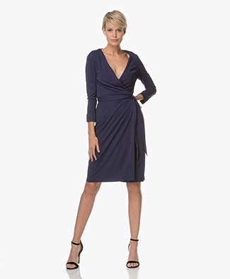 Diane von Furstenberg New Julian Two Wrap Dress - Midnight