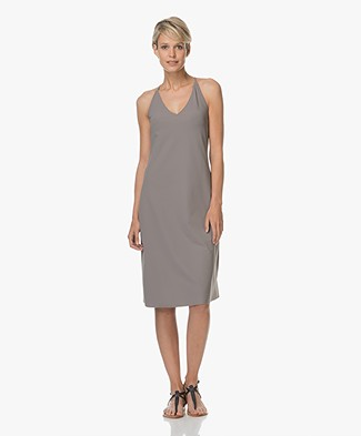 JapanTKY Taya Sleeveless Dress - Grey