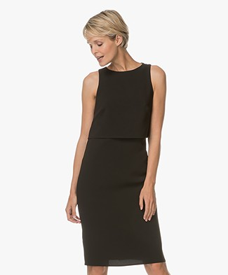 Rag & Bone Eliza Dress with Open Back - Black