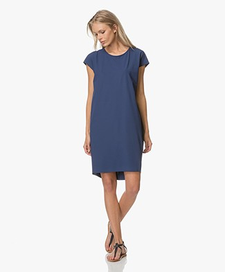 JapanTKY Hiya Dress with Cut-Out Detail - Blue Intenso