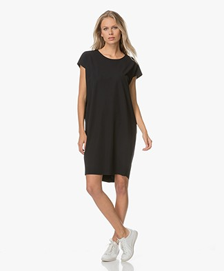 JapanTKY Hiya Dress with Cut-Out Detail - Black