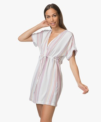 Rails Elodie Viscose Dress - Palisades Stripe