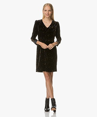 Vanessa Bruno Hortence Velvet Dress - Noir