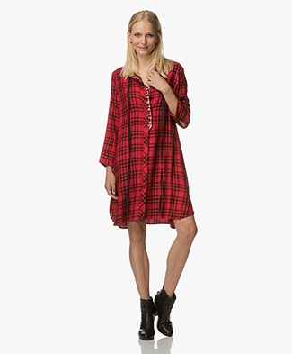 Zadig et Voltaire Ramara Shirt Dress - Red