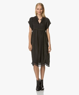 Zadig et Voltaire Rastana Lyocell Dress - Black