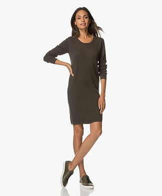 Sibin/Linnebjerg Liv Knitted Dress - Army Green