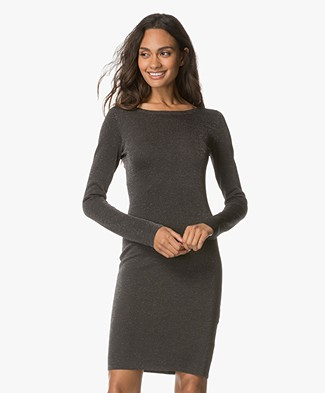Drykorn Kessy Fitted Dress - Grey
