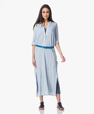 Majestic Linen Maxi-Dress