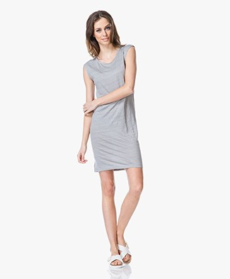Majestic Linen Sleeveless Dress