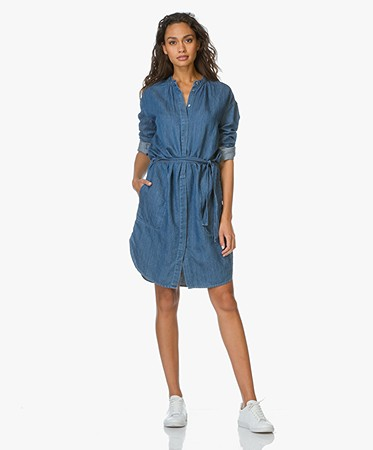 Closed Blousejurk in Denim - Easy Wash
