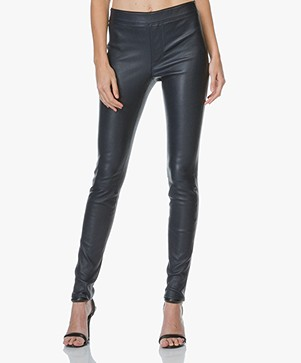 Helmut Lang Leren Stretch Legging
