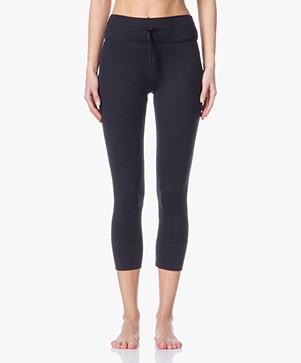 Filippa K Cropped Yoga Leggings - Black